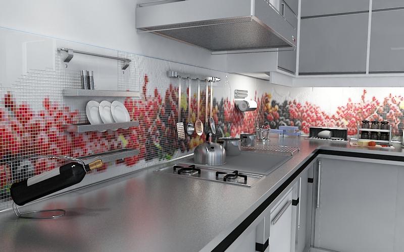 49 - Фотообои на кухне – создаем оригинальный интерьер