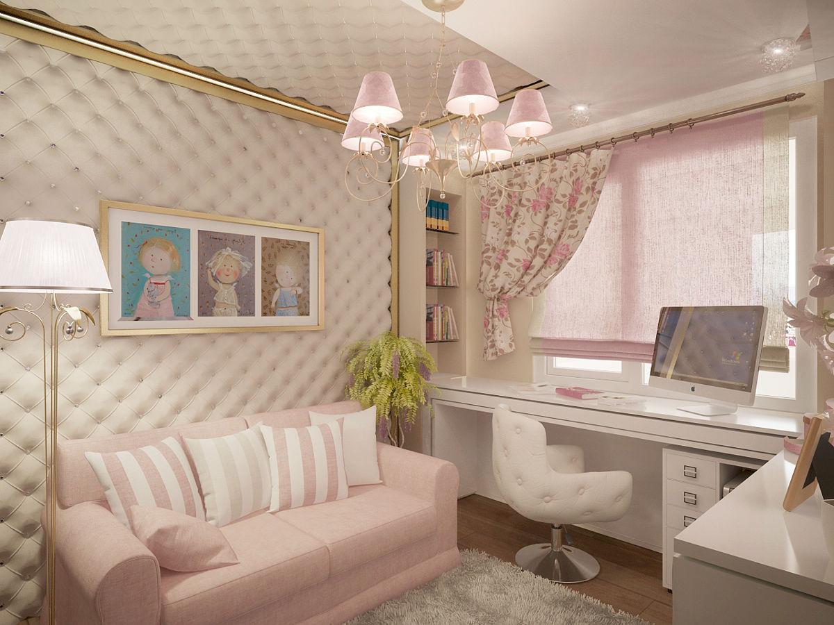 komnata dlya devochki 15 let2 - Комната для девушки - идеи интерьера