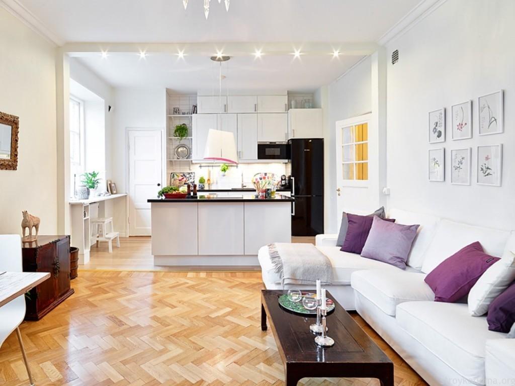 kvartira studiya 3 - Идеи интерьера для квартиры-студии