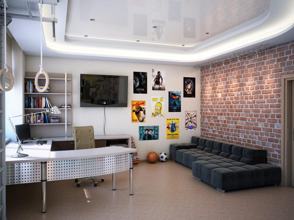 orig 1 - Интерьер юношеской комнаты