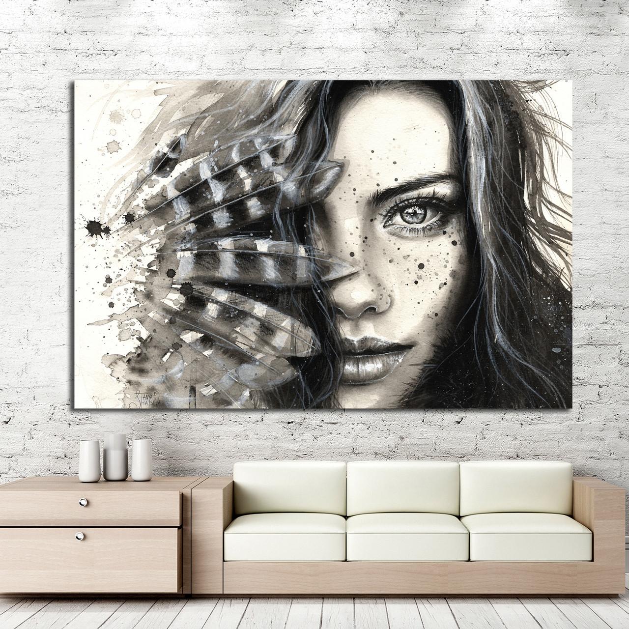 1015692048 w640 h640 kartina cherno - Черно-белые картины или постеры для декора интерьера