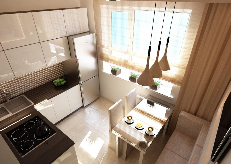 1 4 - Идеи интерьера маленькой кухни