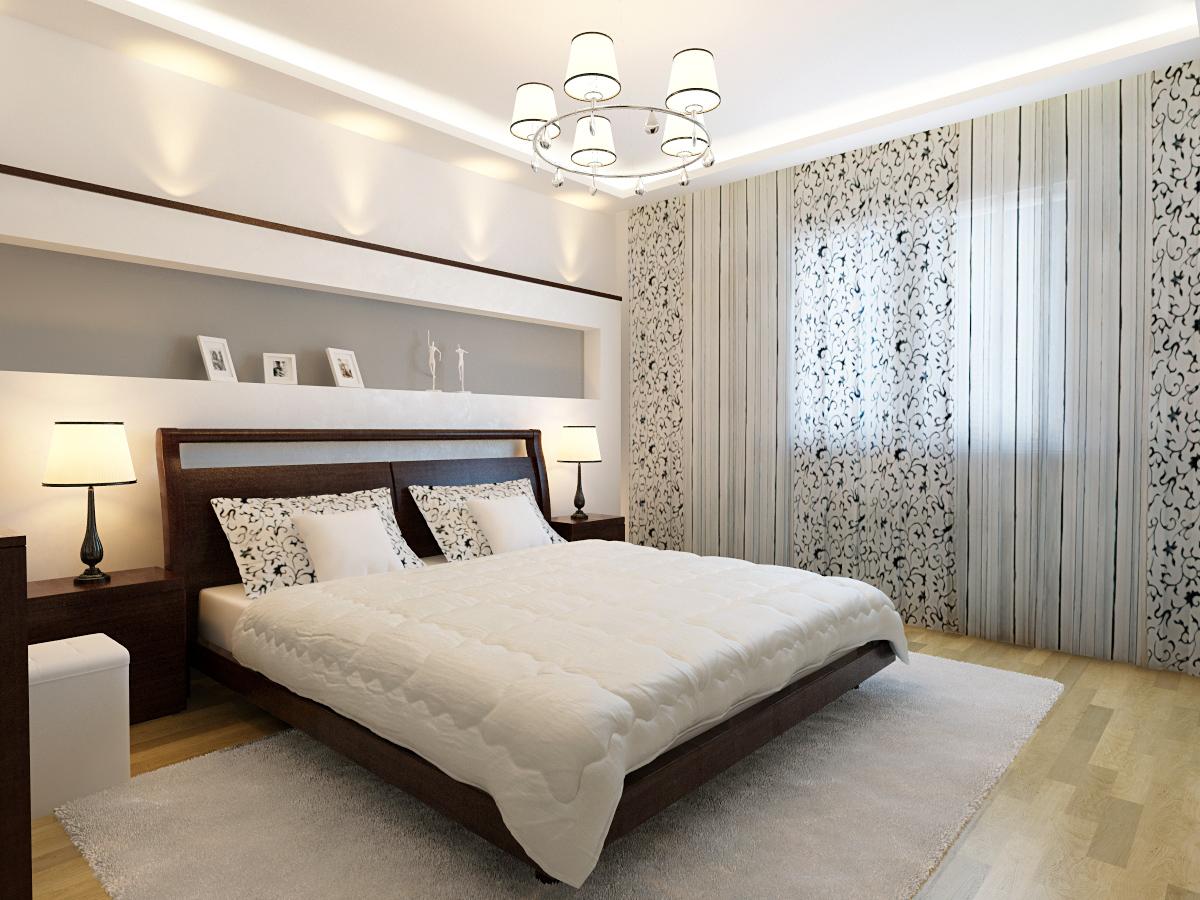 54c1ac2873bea47db1a - Интерьер спальни в белых тонах