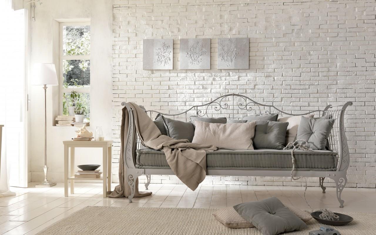 c3504d3c155139da345fe0404a36b8f1 - Белая кирпичная стена в интерьере комнаты