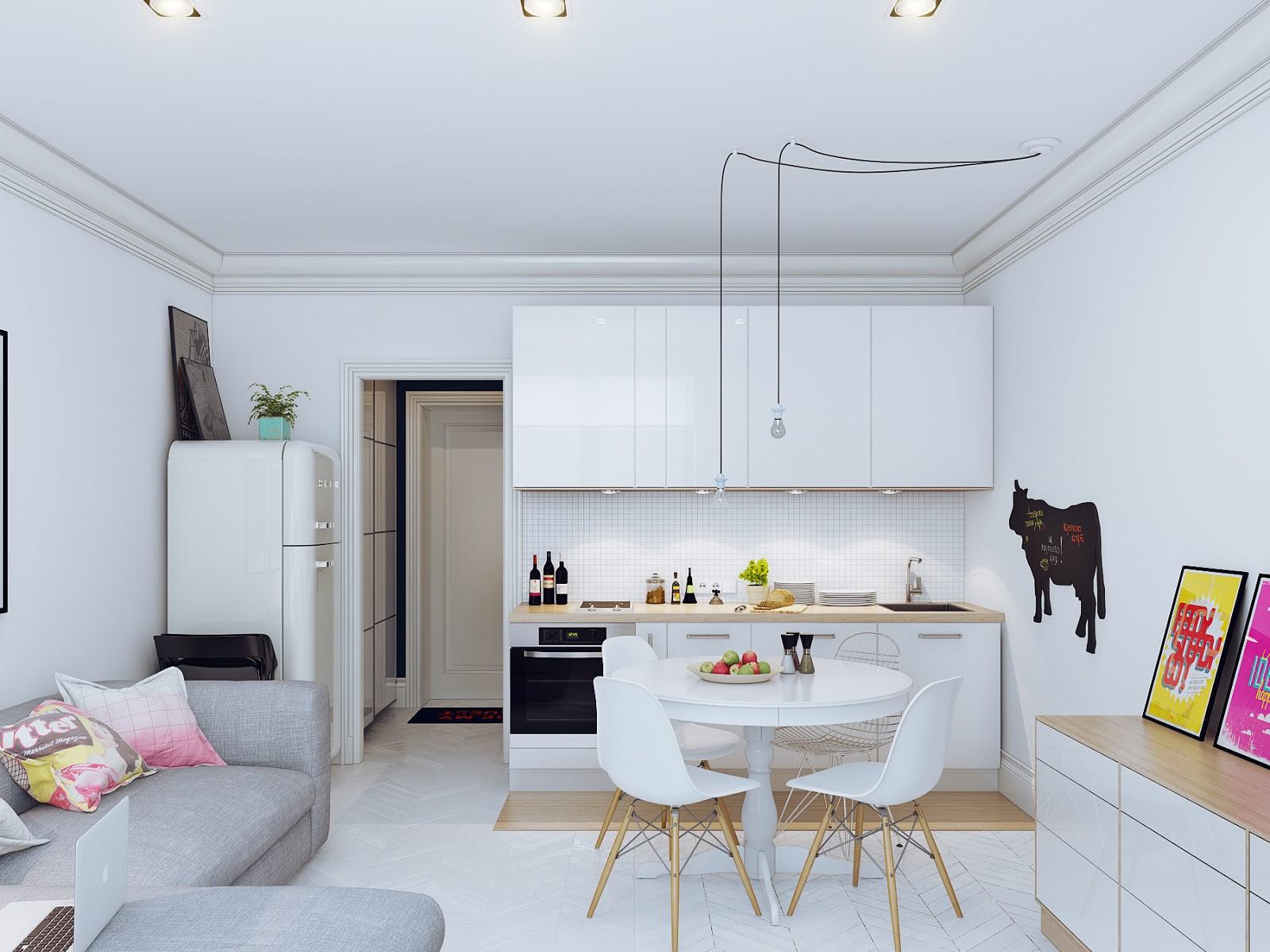 dizayn kuhni 10 kv. m 2 - Идеи интерьера маленькой кухни