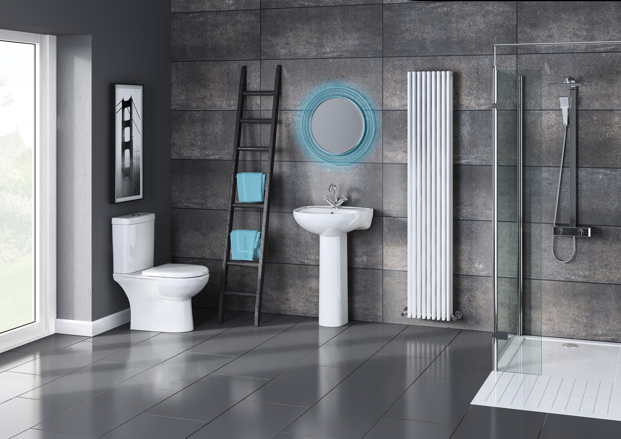 lizzie benton vannaja v stile modern 2 - Идеи для ремонта туалета своими руками