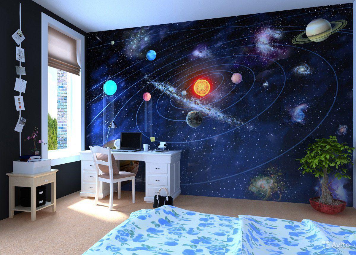 oboi v detskuyu so zvezdami 1 - Идеи для ремонта спальни своими руками