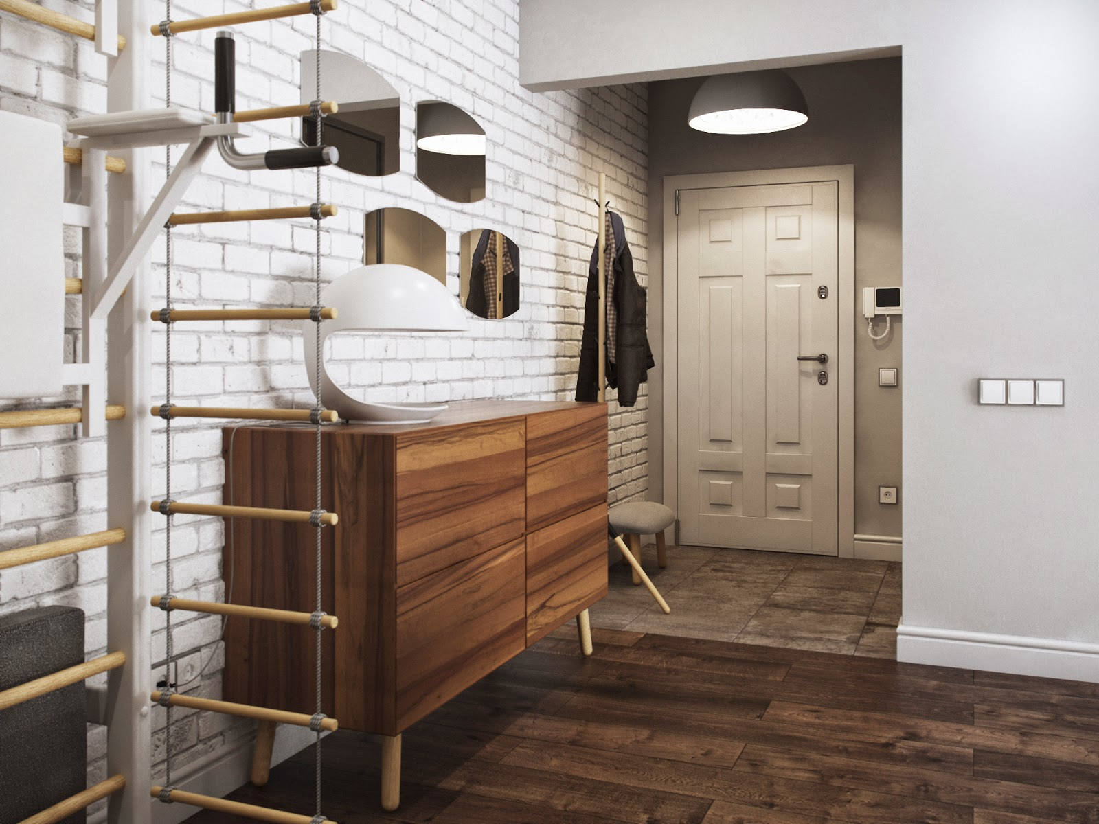 prixozhaya v xrushchevke - Идеи для ремонта коридора в квартире