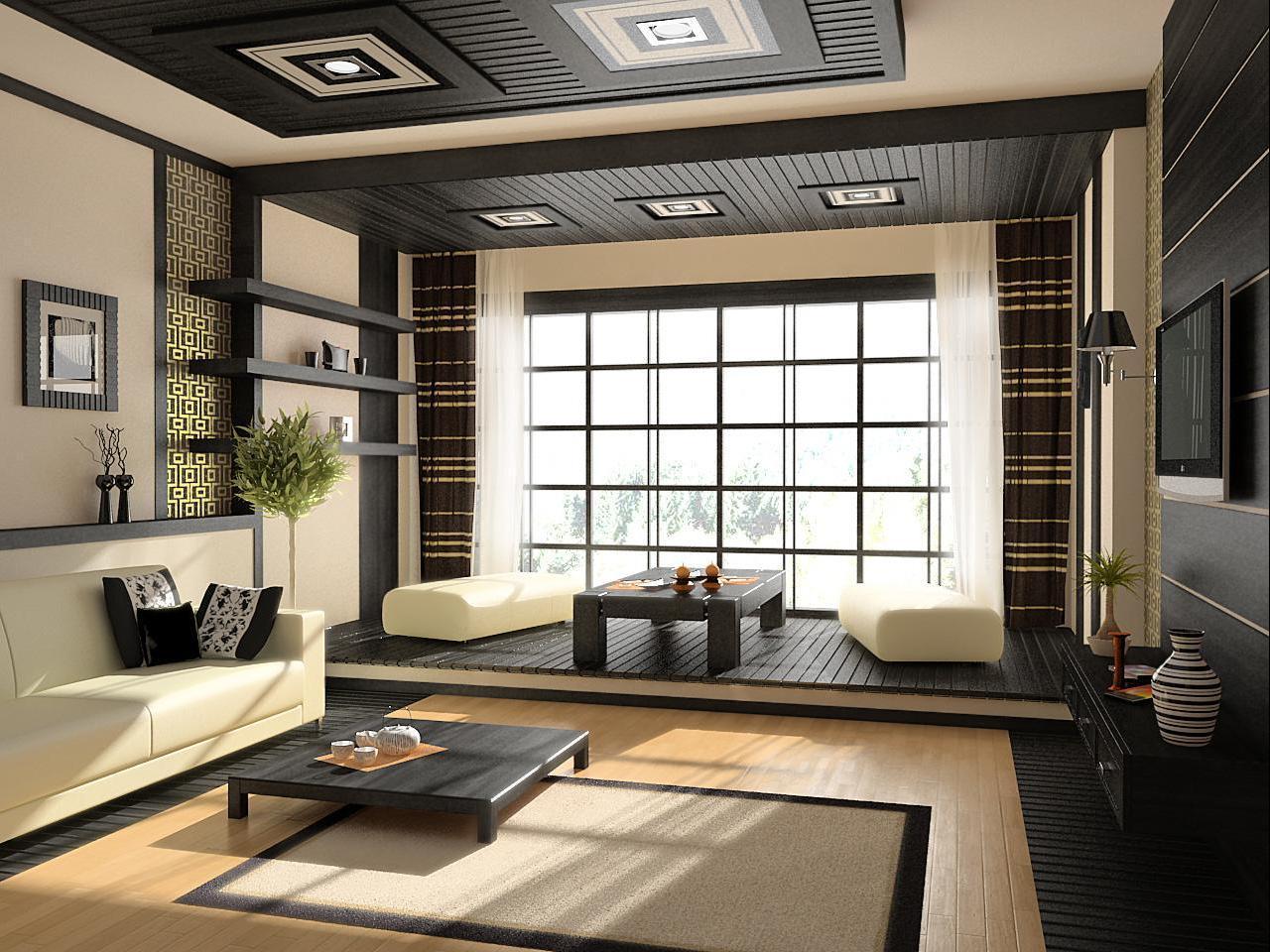 26 1 - Интерьер дома в японском стиле