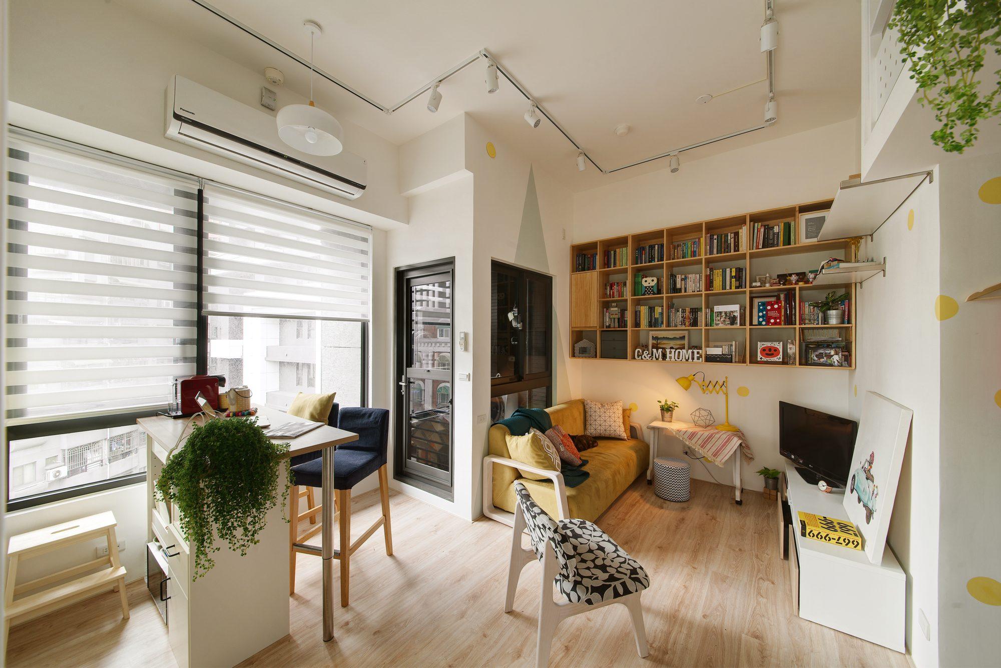 3 354 2000x1335 - Идеи для ремонта квартиры-студии