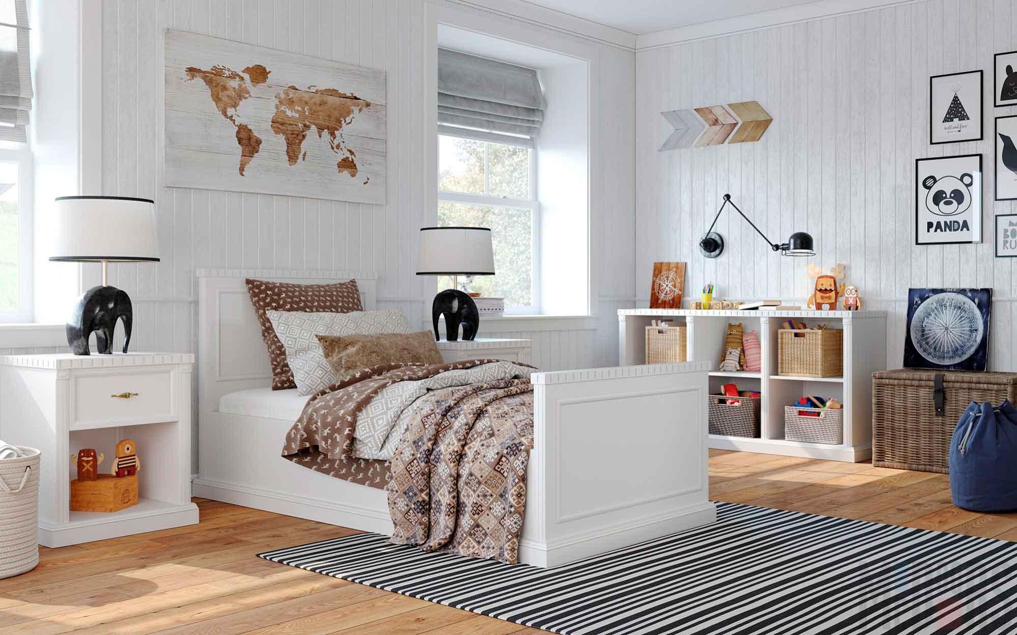 detskaya1b 055 - Идеи уютных интерьеров квартиры
