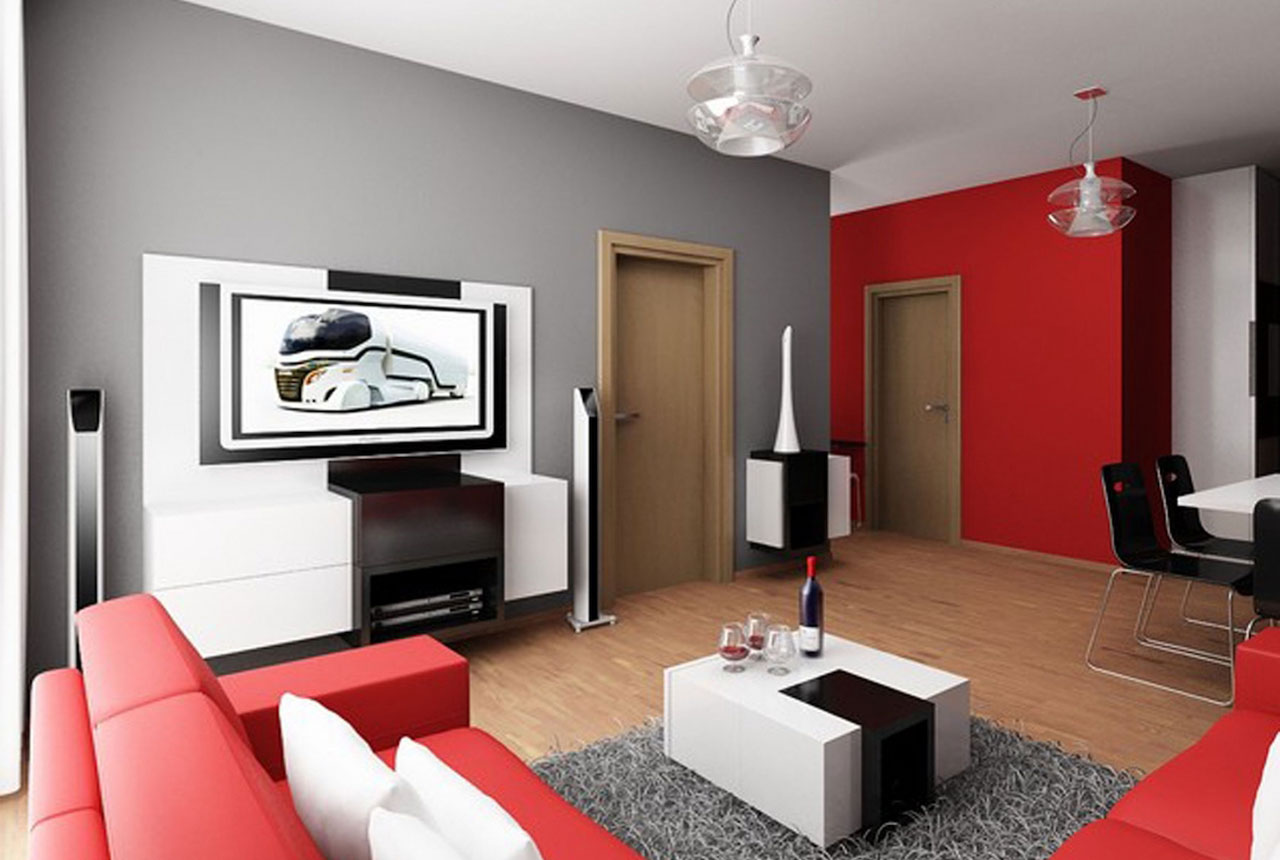 dizain kvartiry studii - Идеи для ремонта квартиры-студии
