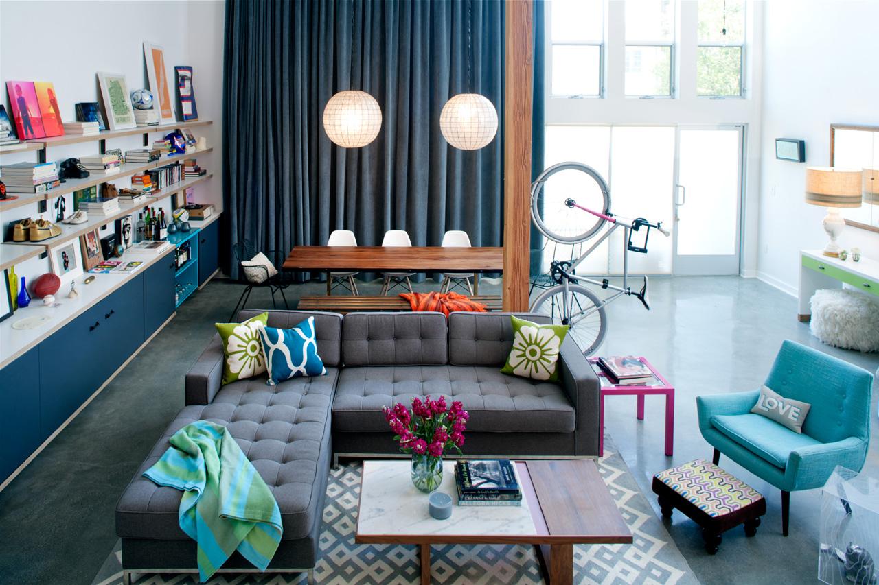 dizajn interere v stile jeklektika - Идеи уютных интерьеров квартиры