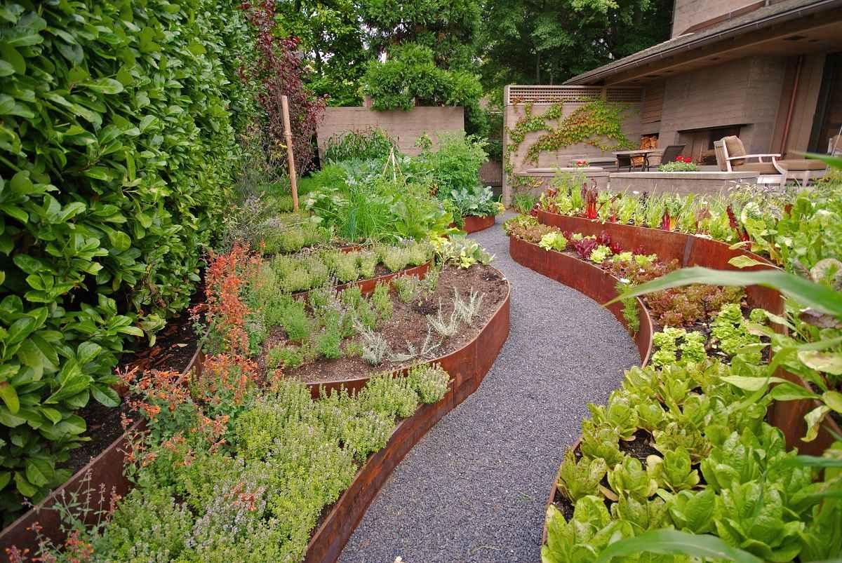 dizajn ogoroda 1 - Ландшафтный дизайн сада и огорода своими руками