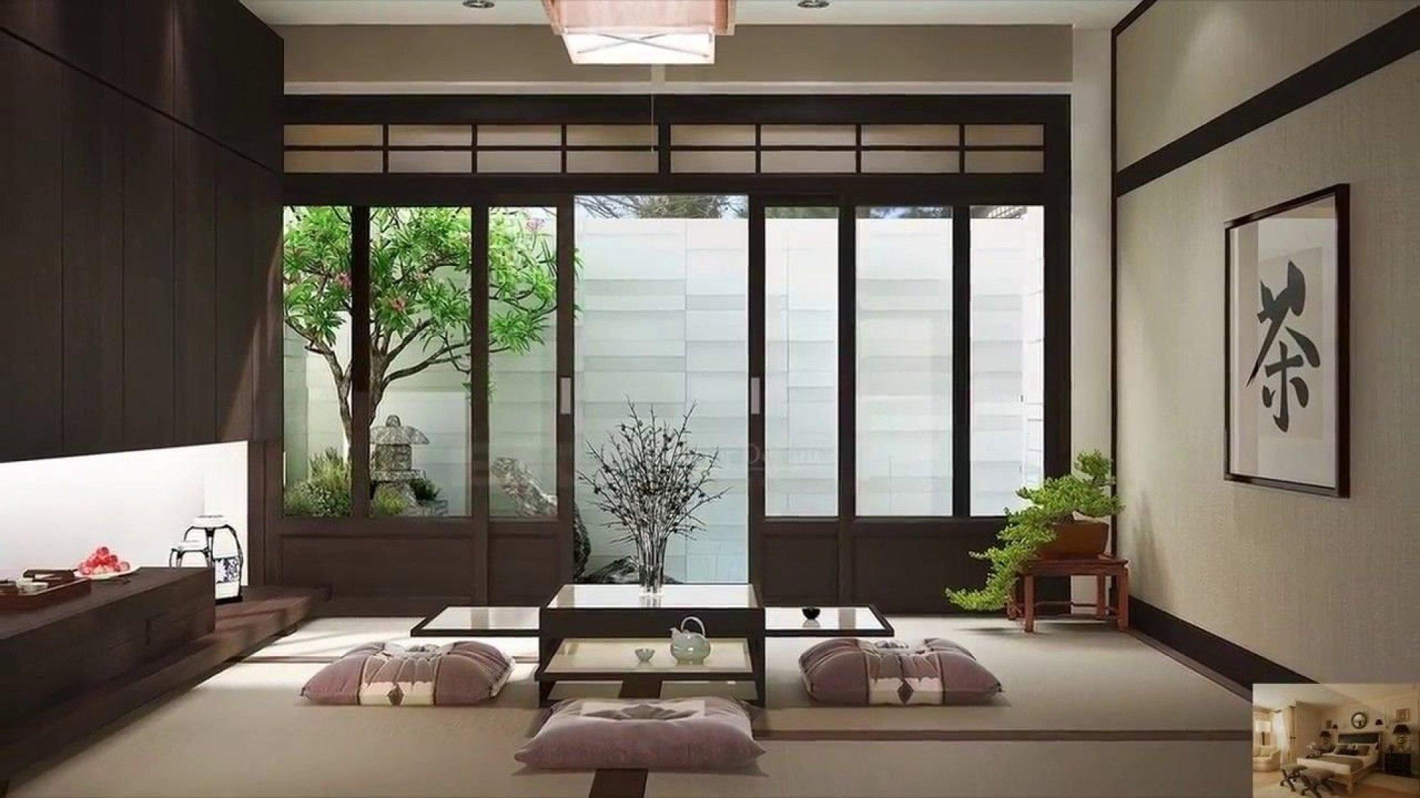 e2c7d47d42ff666db26bf2cb5b7b4085 - Интерьер дома в японском стиле