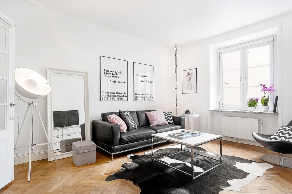 ideya neobychnogo stilya komnaty v skandinavskom stile - Идеи уютных интерьеров квартиры