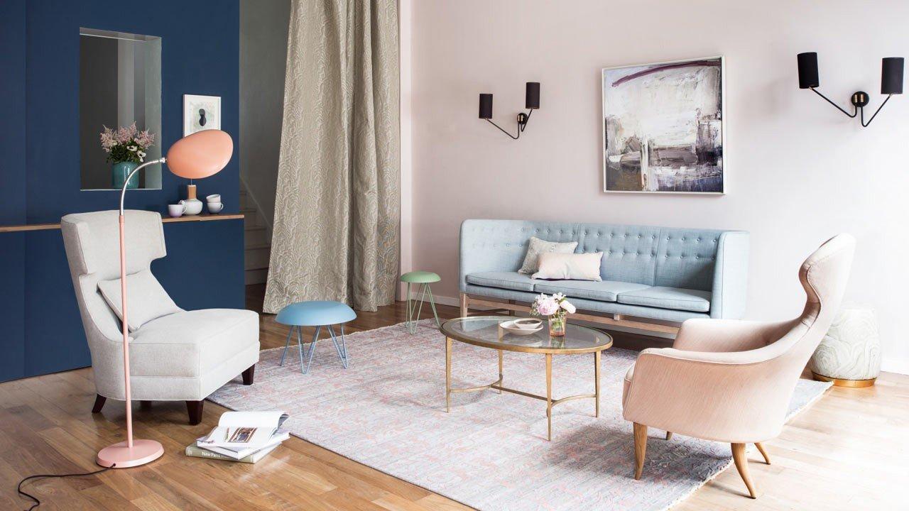 interer v pastelnyh tonah 2 - Идеи уютных интерьеров квартиры