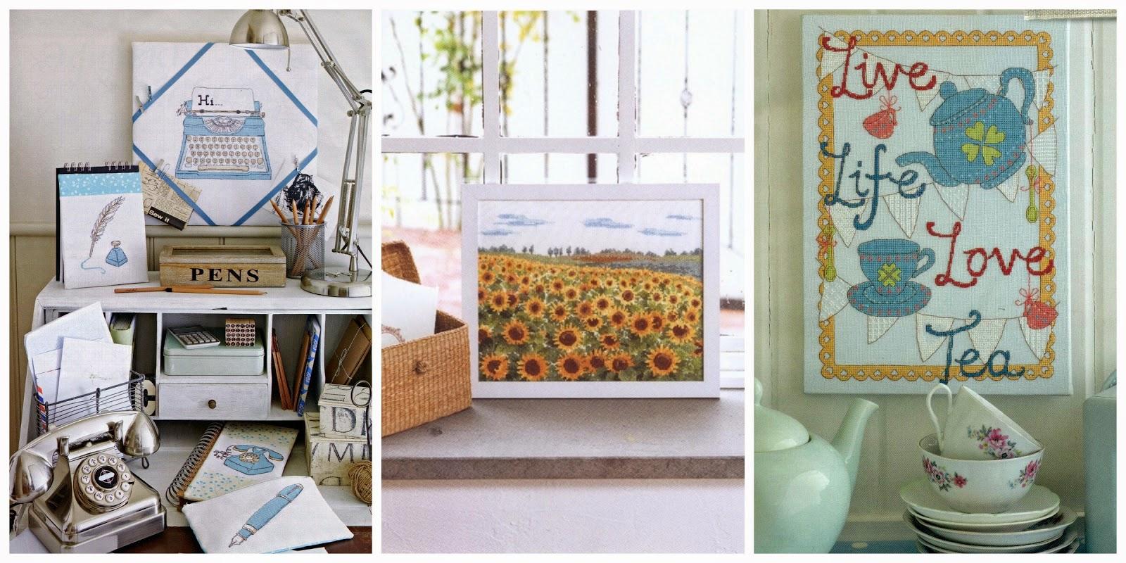 intererkollazh - Вышивка и вязание в интерьере квартиры