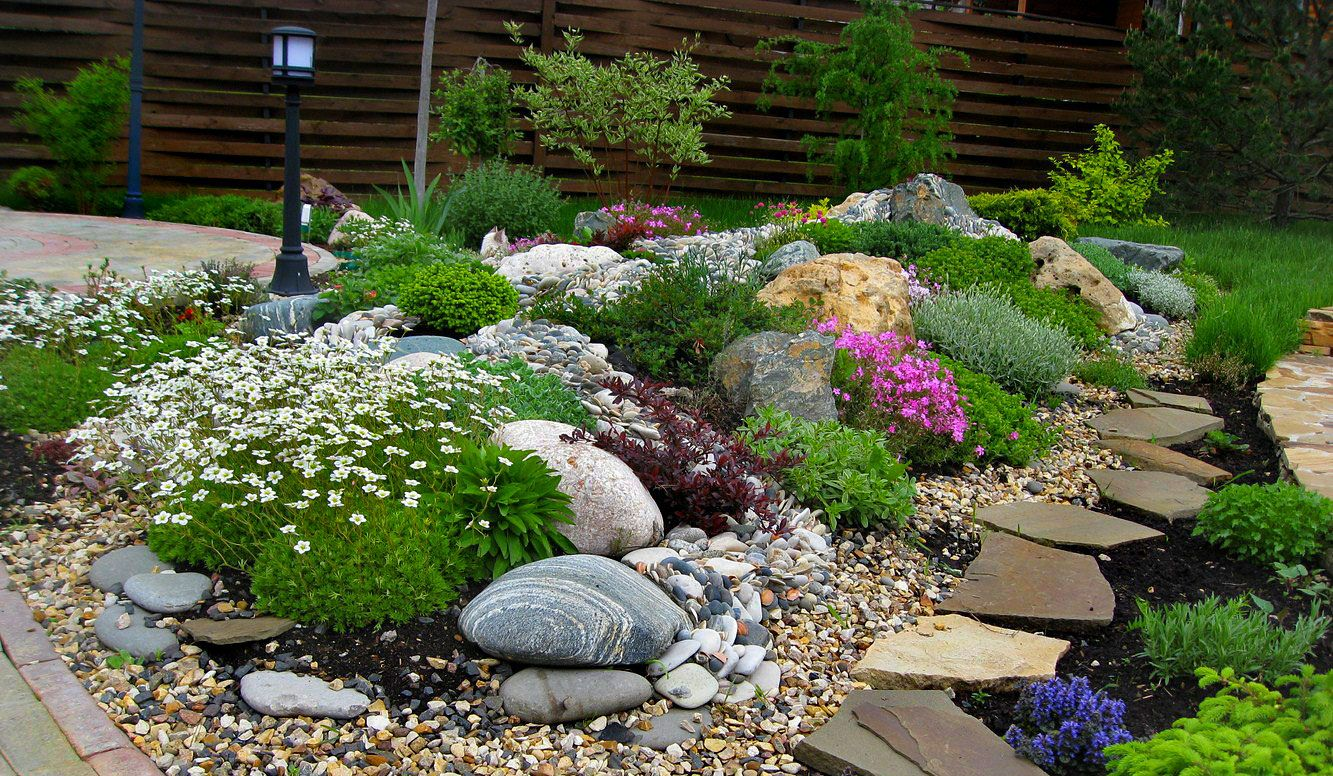 kak sdelat alpijskuyu gorku s kamnyami - Ландшафтный дизайн сада и огорода своими руками