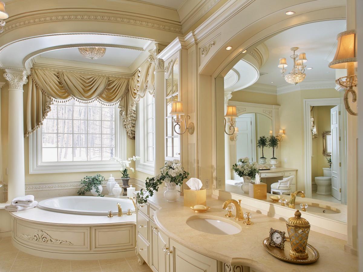 klassicheskiy disayn vannoy - Идеи и советы для ремонта в ванной комнате