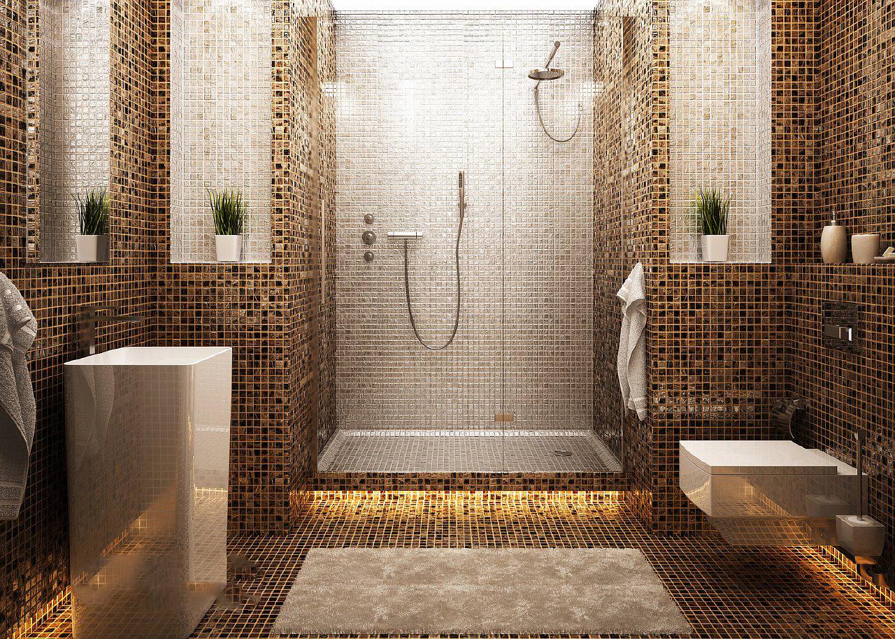 mozaika v vannoy komnate 24 16072414 - Идеи и советы для ремонта в ванной комнате