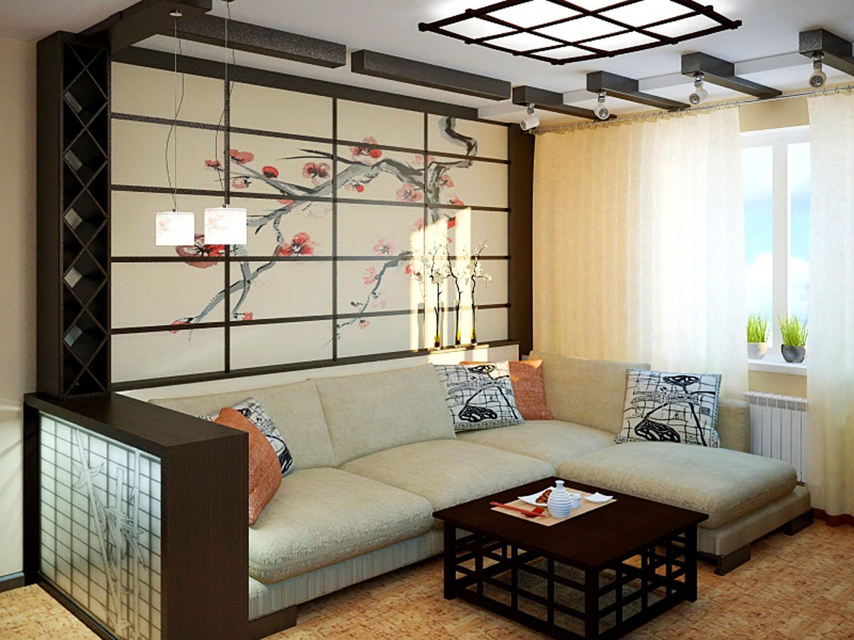 orig - Интерьер дома в японском стиле