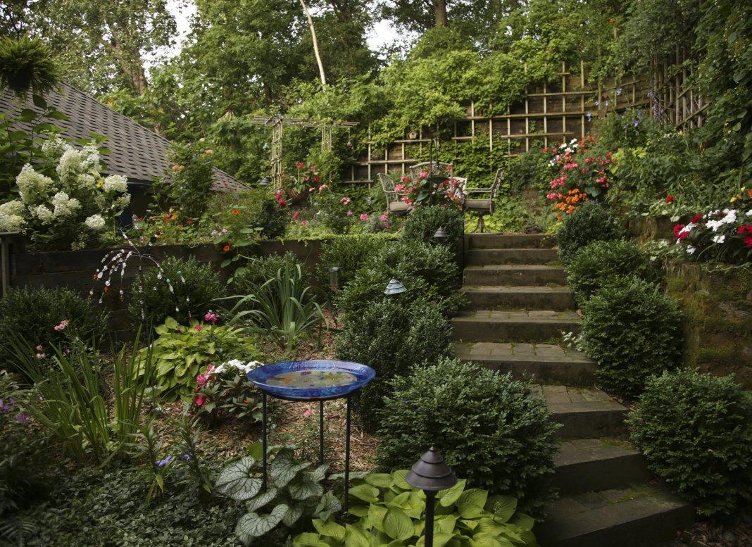 panoramnyy sad 08 - Ландшафтный дизайн сада и огорода своими руками