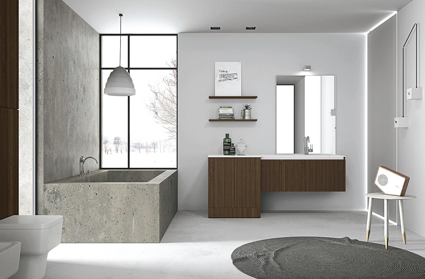 stil minimalizm v vannoj komnate osobennosti foto7 - Идеи и советы для ремонта в ванной комнате
