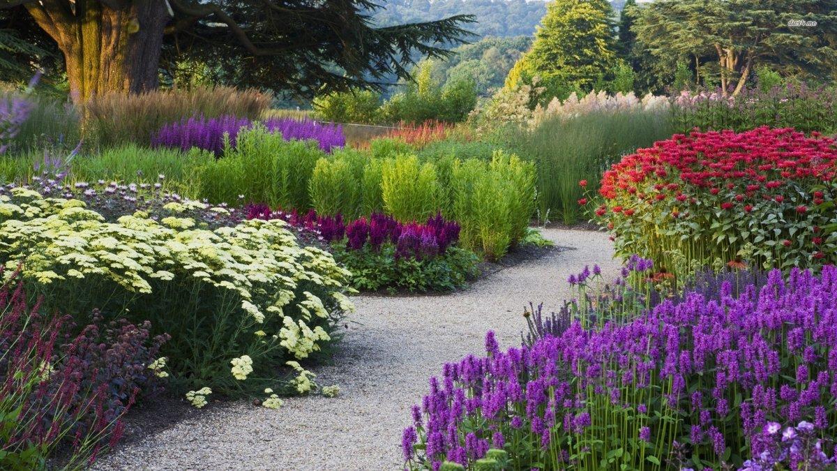 tsvetnik 03 - Ландшафтный дизайн сада и огорода своими руками
