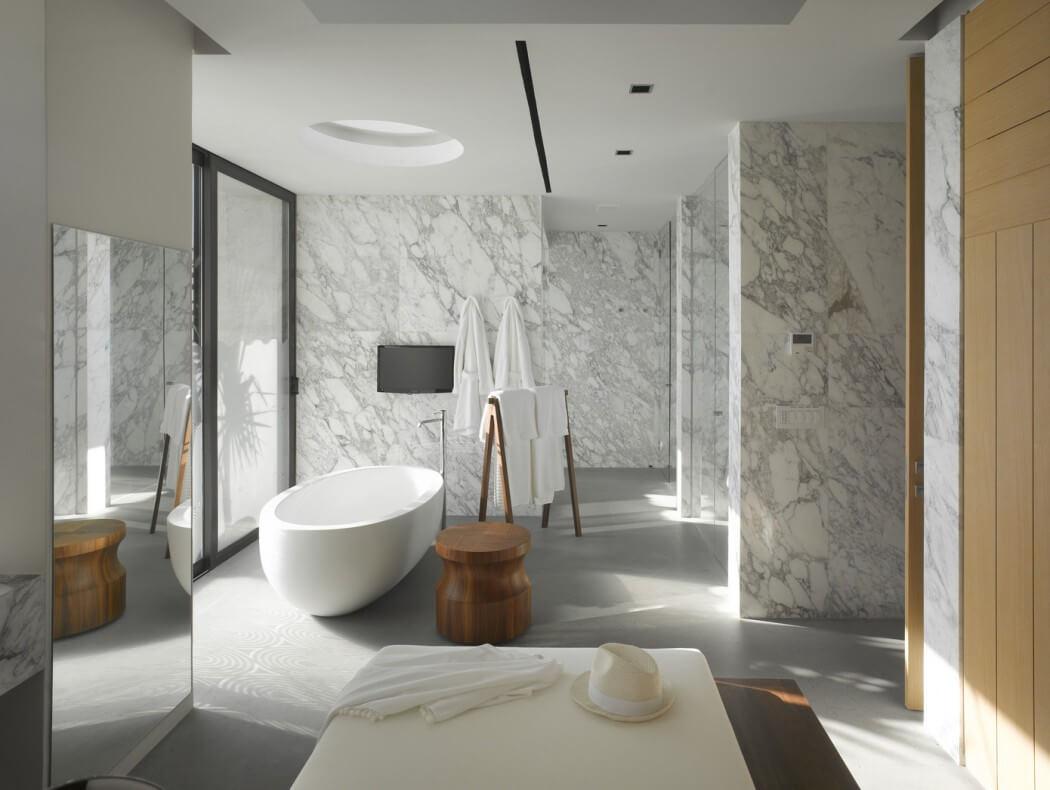 vannaya v stile minimalizm 9 - Идеи и советы для ремонта в ванной комнате