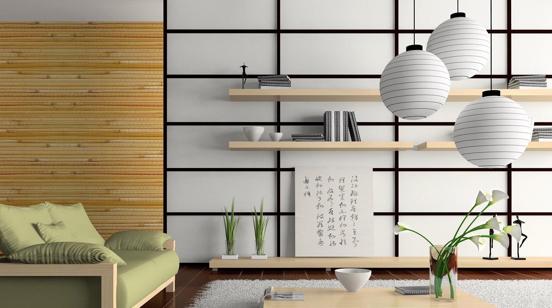 yaponskiy stil v interyere - Интерьер дома в японском стиле