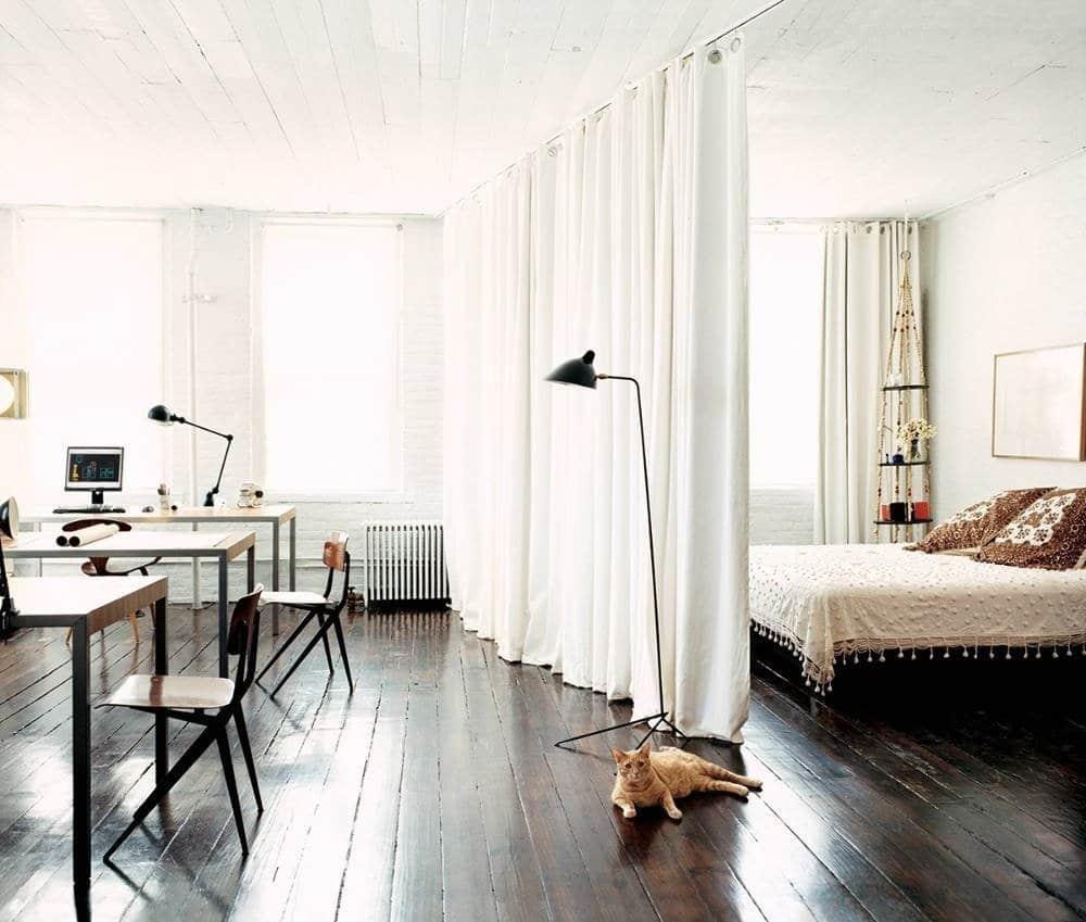zonirovanie komnaty2 - Идеи для ремонта квартиры-студии