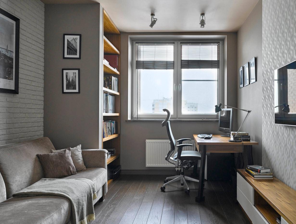 14 4 - Идеи интерьера трехкомнатной квартиры