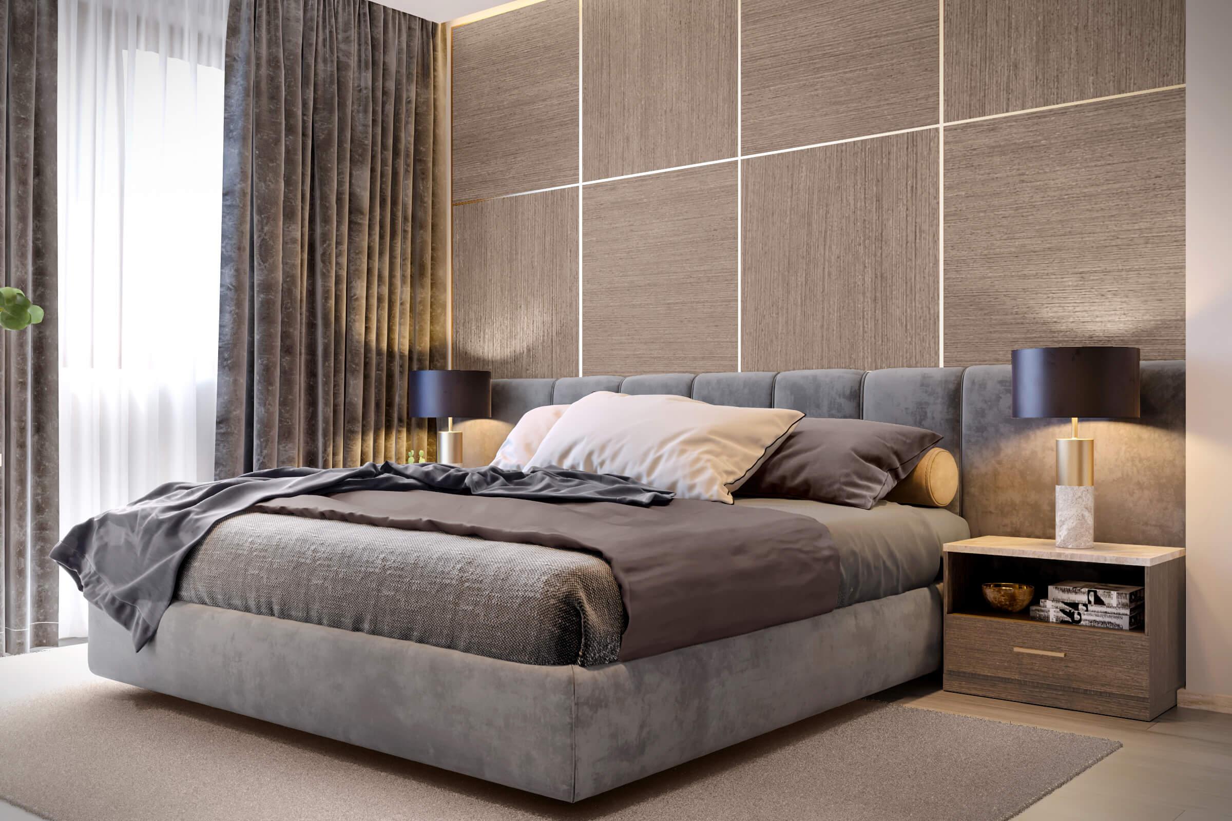 2704 - Идеи интерьера трехкомнатной квартиры