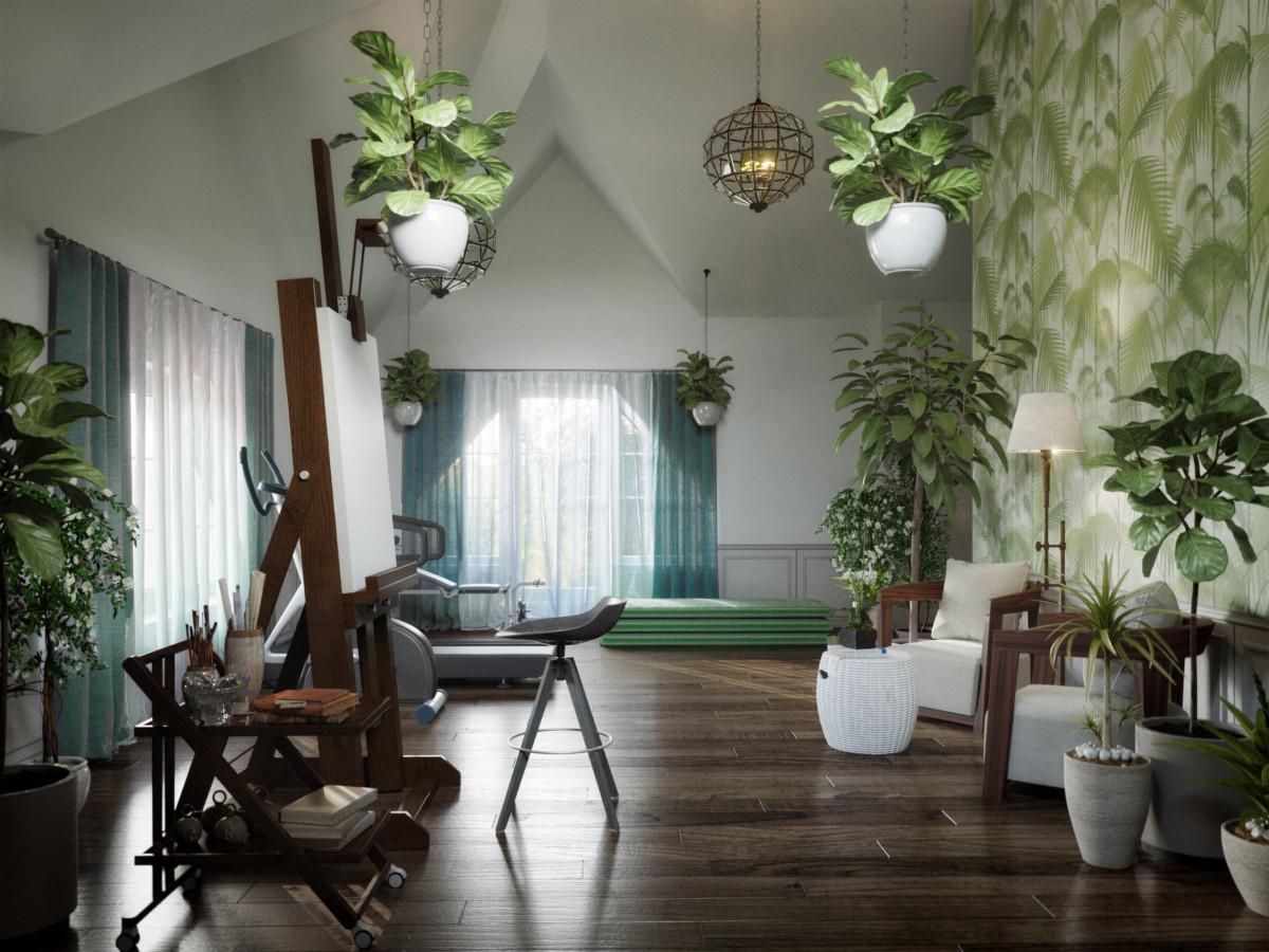 9 1 1 1200x900 - Идеи интерьера трехкомнатной квартиры
