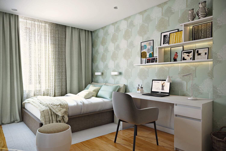 975 - Идеи интерьера трехкомнатной квартиры