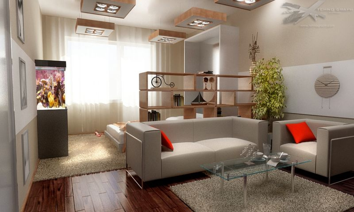 detskaja v odnushke - Идеи интерьера трехкомнатной квартиры
