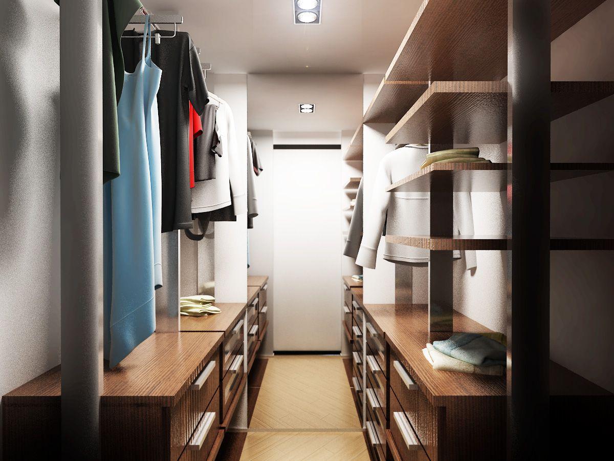 dizajn kladovki 34 - Идеи интерьера трехкомнатной квартиры