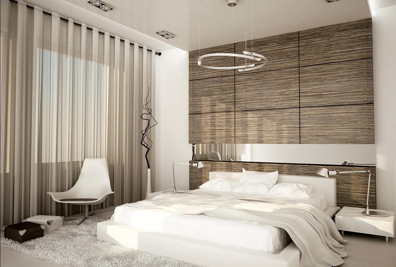 dizajn spalni v hrushchevke 95 - Идеи интерьера трехкомнатной квартиры