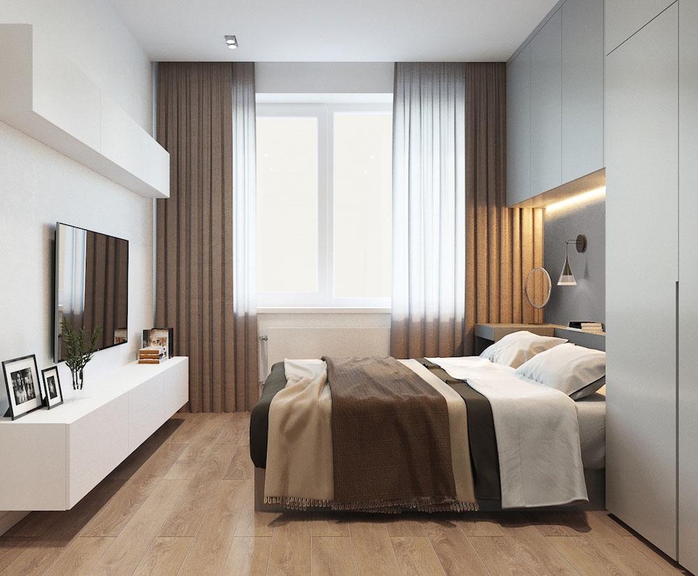 dizajn spalni v xrushhevke moderniziruem starinu 3 - Идеи интерьера двухкомнатной квартиры