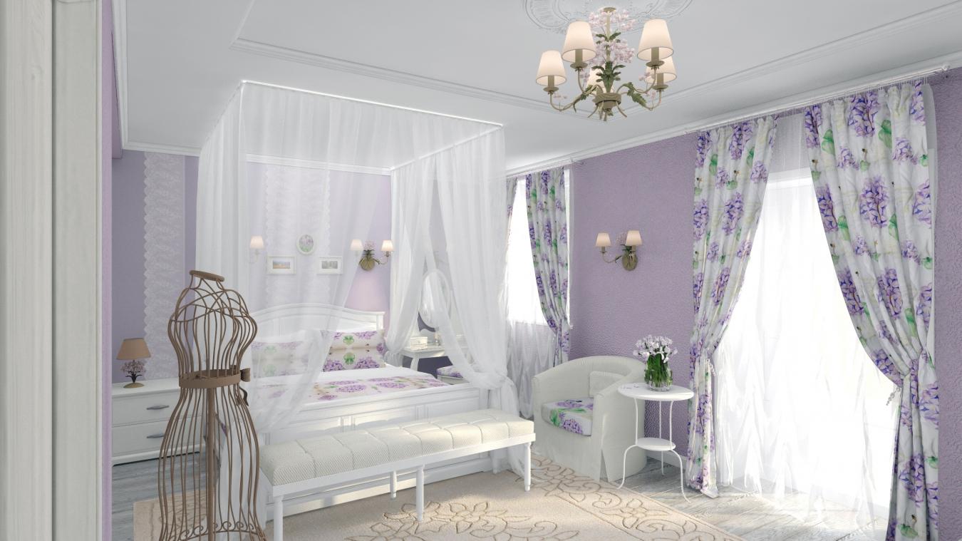 spalnya v stile provans 12 14083121 - Идеи для интерьера в стиле Прованс