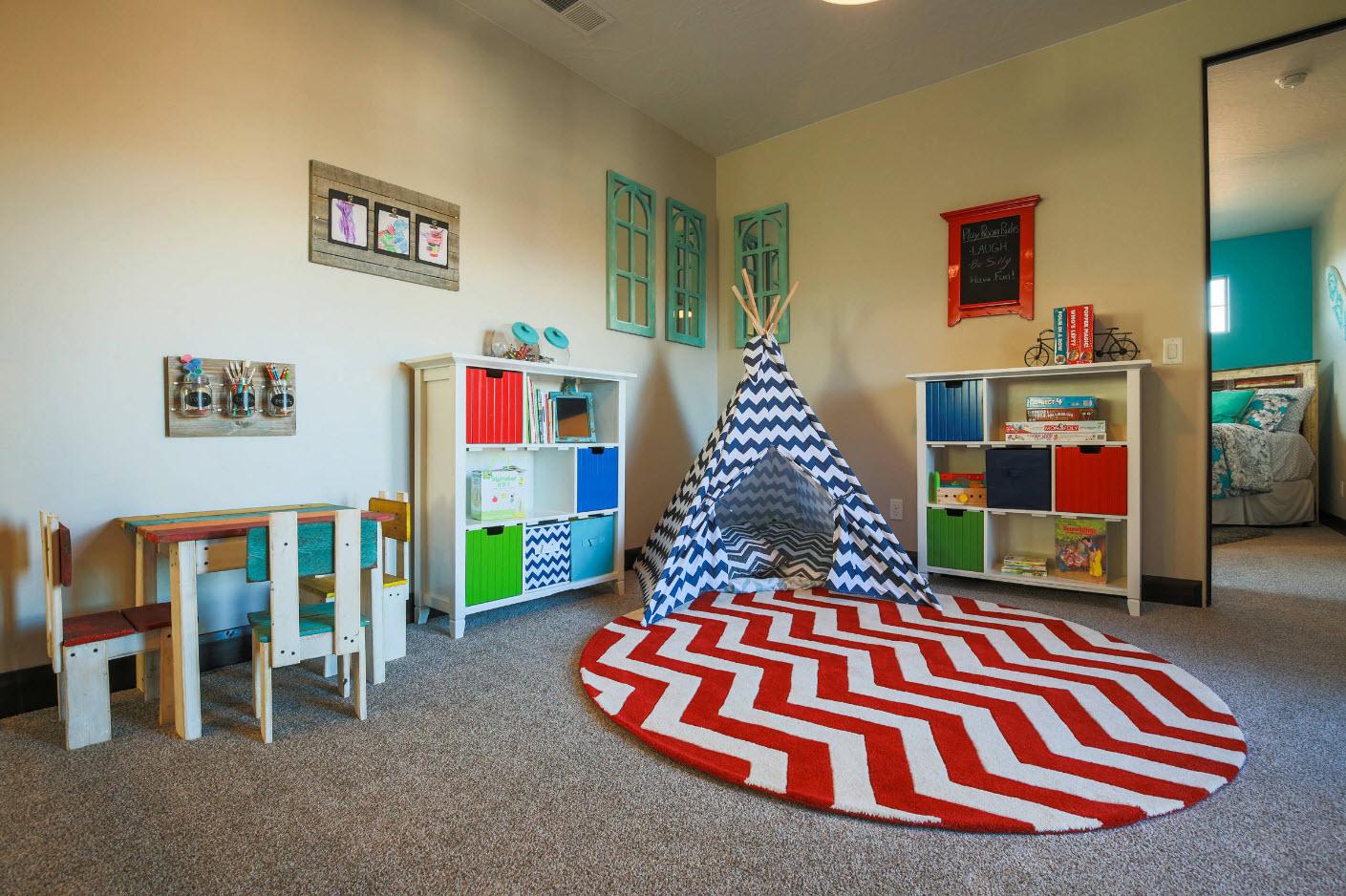 0f27r - 5 правил обустройства детской комнаты