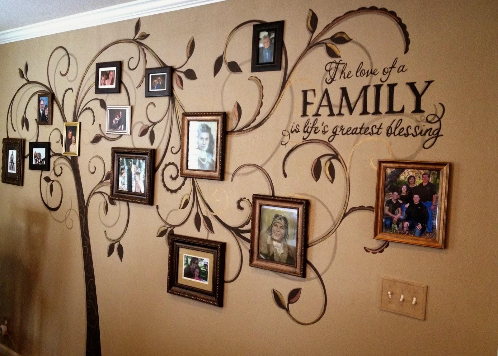family tree mural 1 - Идеи и советы для вашего ремонта