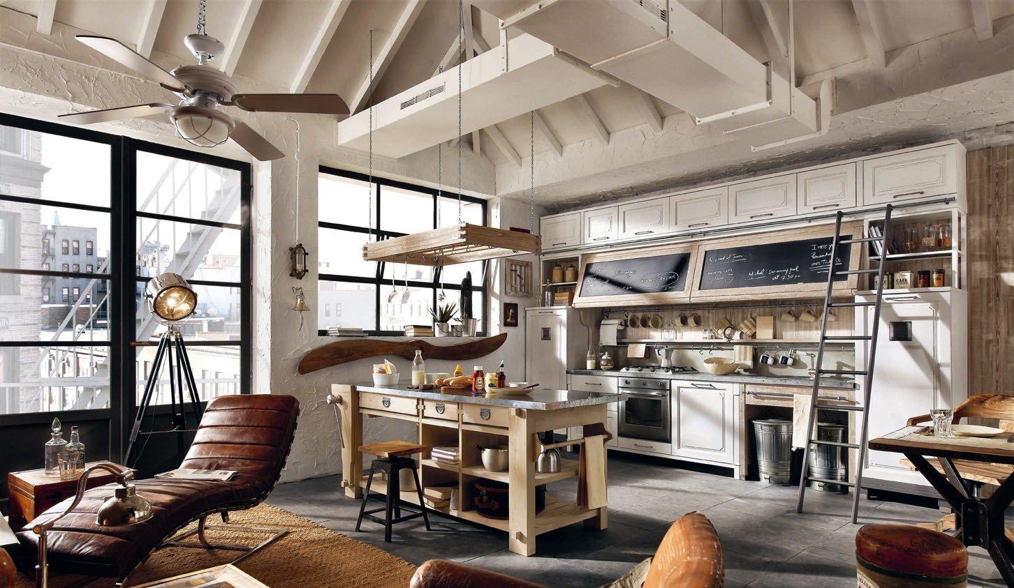 industrialnyj stil v interere 2 - Как оформить интерьер в индустриальном стиле: 5 советов