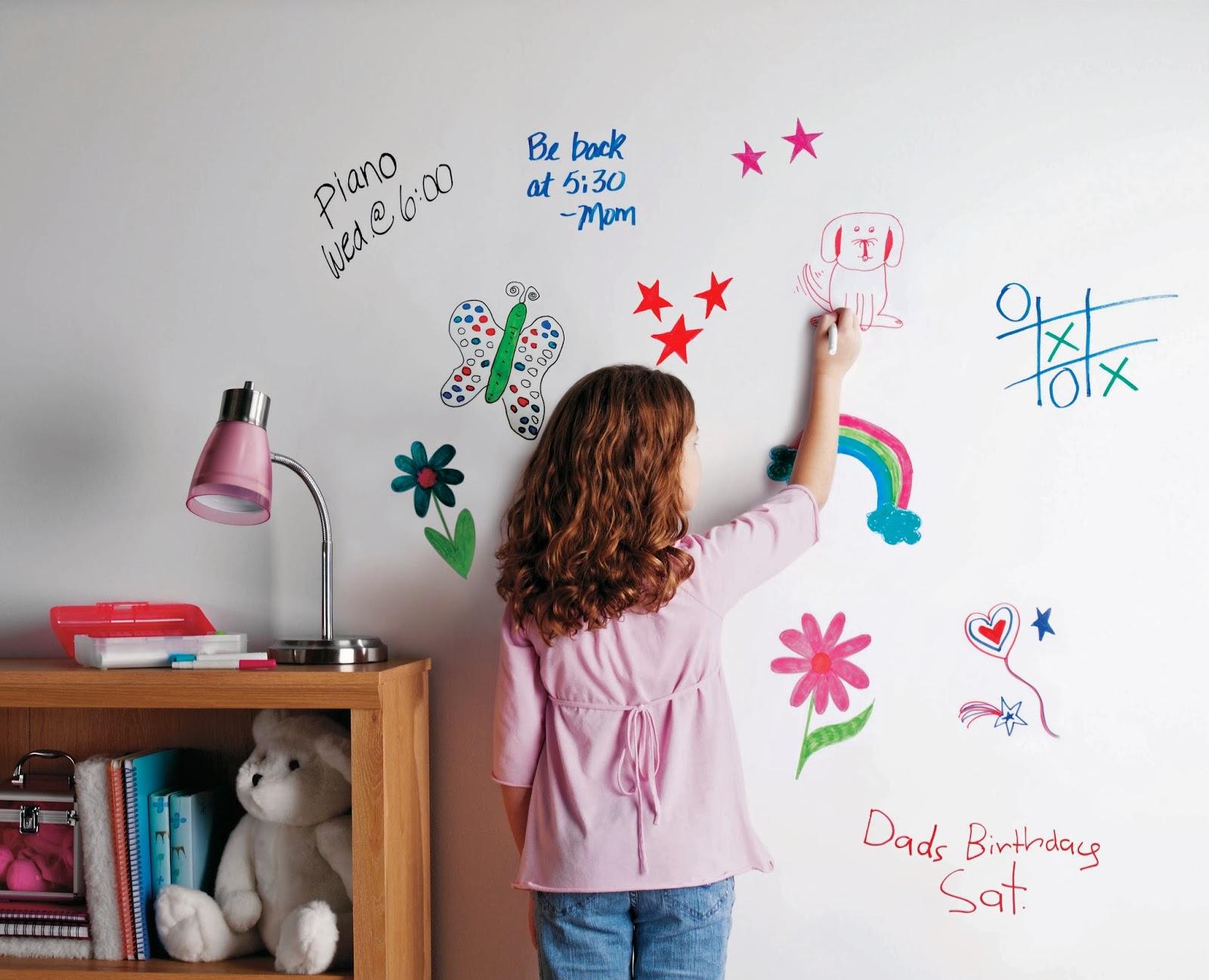 markernaya kraska 15 - 5 правил обустройства детской комнаты