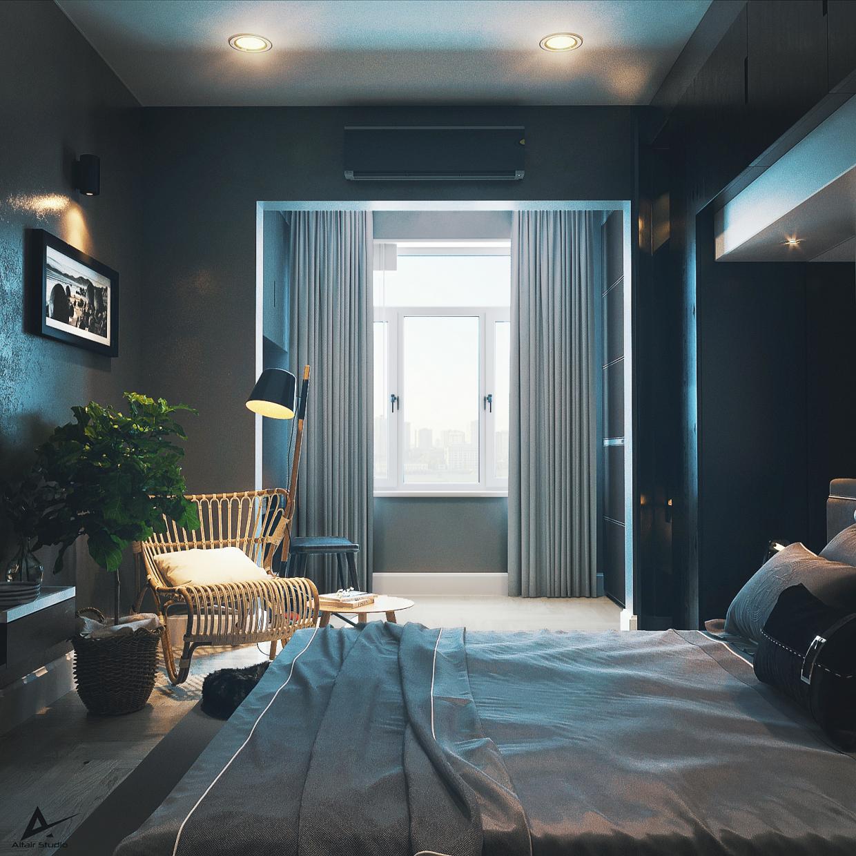 modern dark bedroom 85457 xxl - 10 советов по созданию эксклюзивности