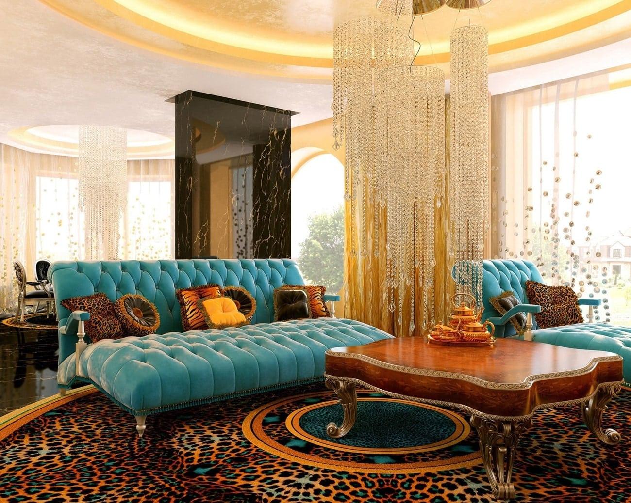 stil art deko v interere - Стили интерьера для маленькой квартиры
