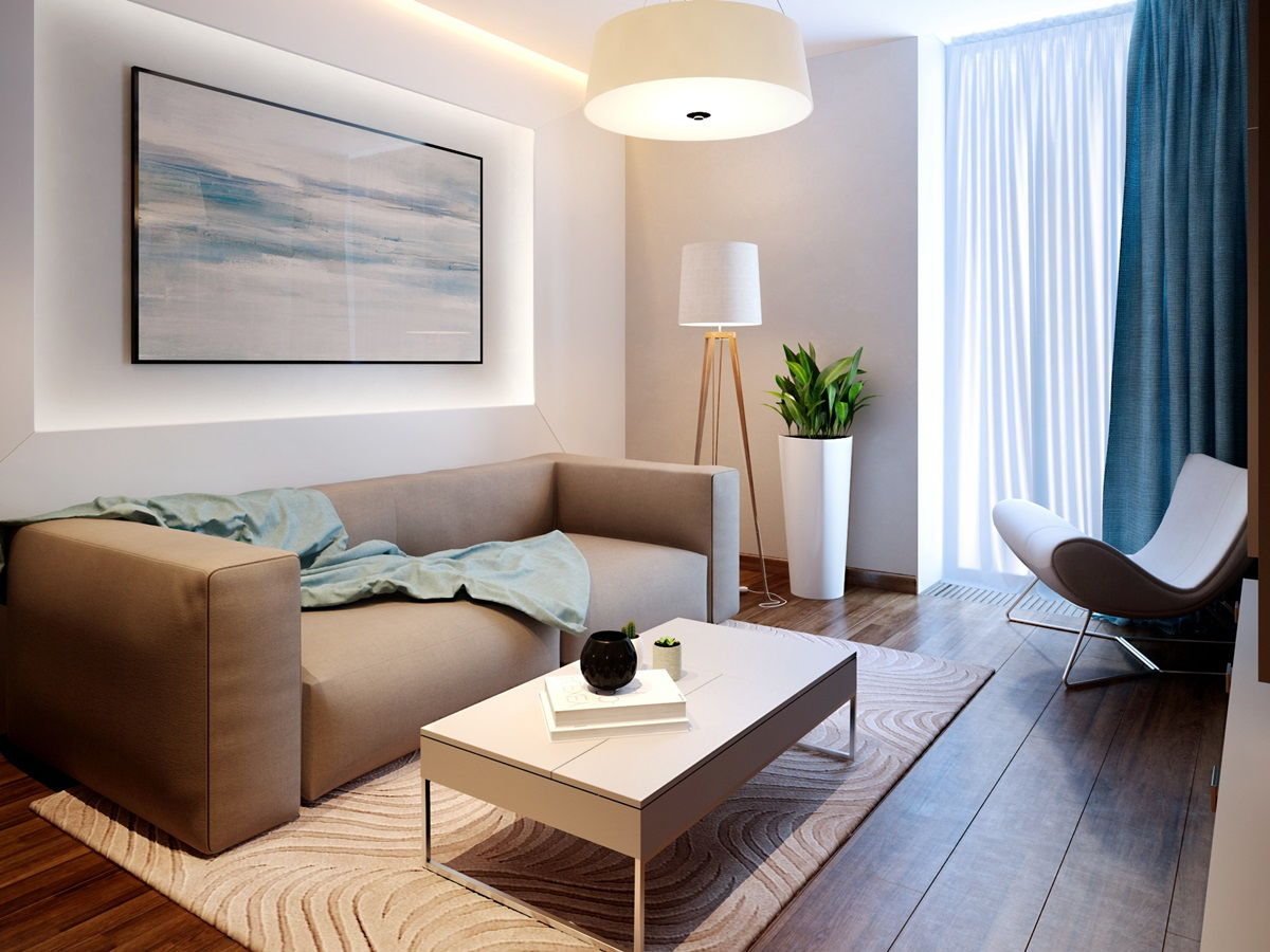 stil kontemporari v interere foto 16 - Стили интерьера для маленькой квартиры