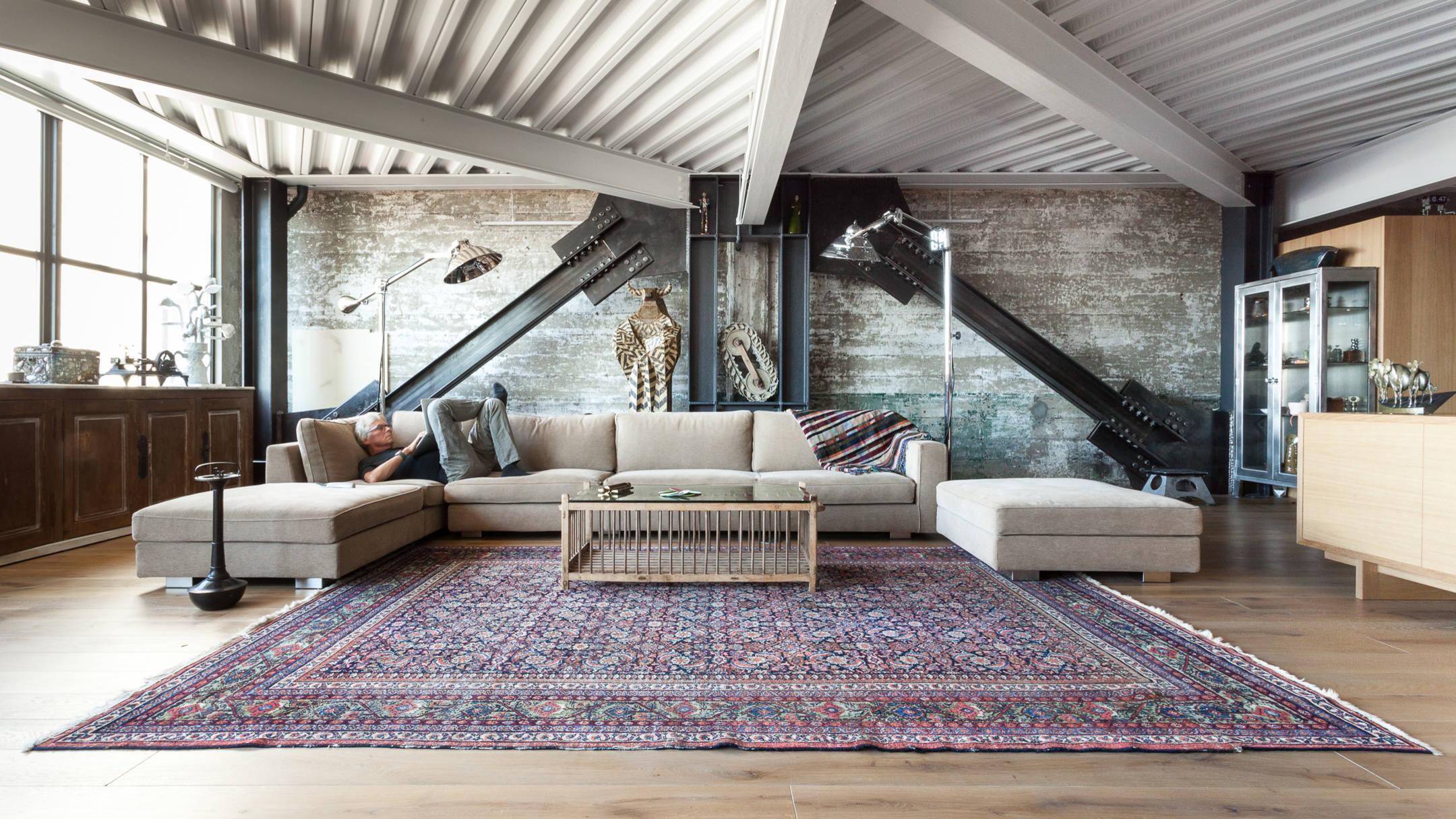 stil loft v interere 39 - Как оформить интерьер в индустриальном стиле: 5 советов