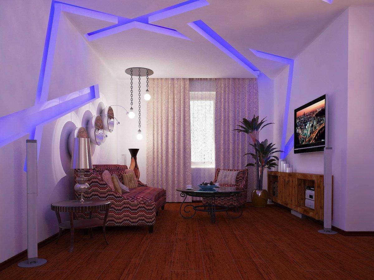 svetodiodnaya lenta v interere 33 - Лайфхаки: как преобразить комнату с помощью света